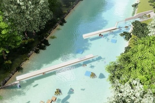 Pulire i fiumi dalla plastica con un rivoluzionario sistema di 'tende': il progetto italiano