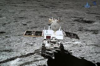 """Lunga notte da incubo sul lato oscuro della Luna, """"Più freddo del previsto"""": lander in 'letargo'"""