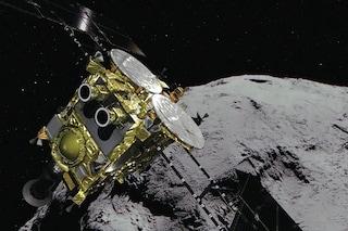 Hayabusa 2 è atterrata sull'asteroide Ryugu: la sonda giapponese porterà campioni sulla Terra