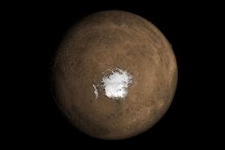 """Marte è ancora """"vivo"""": attività vulcanica spiega l'esistenza del lago scoperto da italiani"""