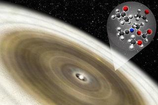 Molecole organiche rilevate attorno a una stella neonata: sono base dei mattoni della vita