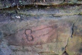Un fallo porta fortuna di 1.800 anni fa: il graffito romano trovato nel Vallo di Adriano