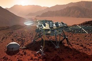 Marte, rilevato il primo terremoto: ascolta il suo inquietante suono registrato da InSight
