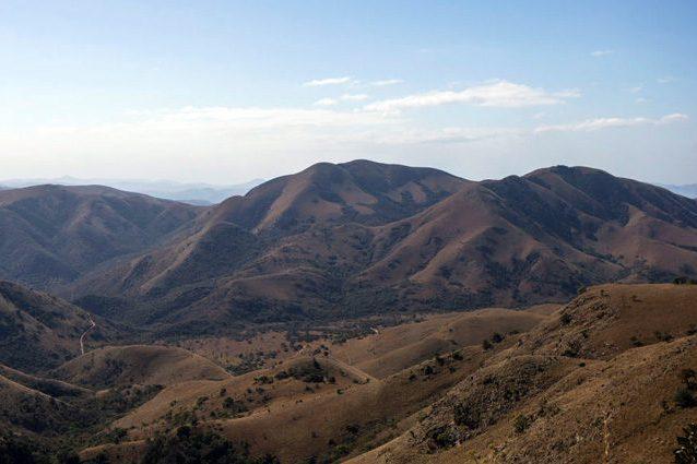 I Monti Makhonjwa, dov'è stato trovato il materiale organico