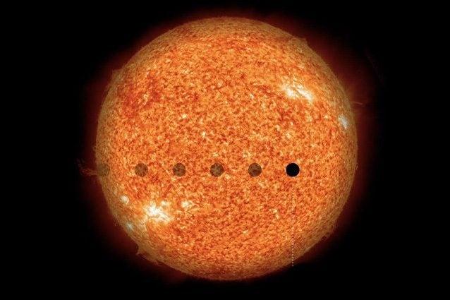 Credit: NASA/SDO (Sun), MPS/René Heller