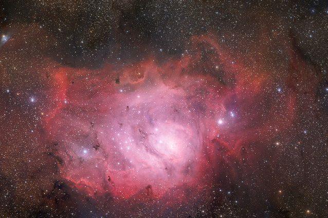 Nebulosa Laguna Credit: ESO