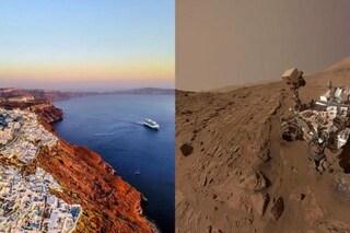 Santorini come Marte, trovate sull'isola rocce come quelle sul Pianeta Rosso