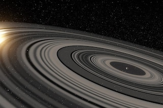 """Questo magnifico super Saturno ha anelli 200 volte più estesi dell'""""originale"""", ma non lune"""
