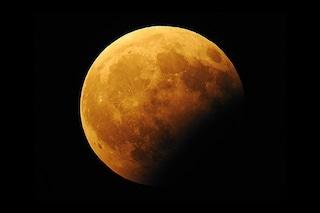 Tutto pronto per l'eclissi di Luna parziale di luglio: quando vedere il magnifico spettacolo