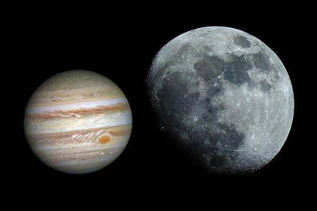 Credit: Giove/NASA – Luna/Andrea Centini