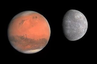 """Marte concede un """"valzer"""" a Mercurio: quando e come vedere la danza dei due pianeti"""