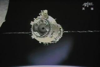 La stazione spaziale cinese Tiangong-2 sta per schiantarsi contro l'atmosfera terrestre