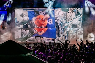 L'astronauta italiano Luca Parmitano è il primo DJ dello spazio: ha fatto ballare tremila persone