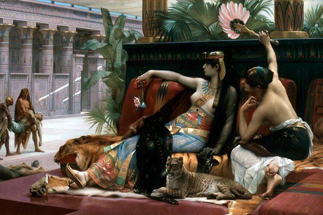 Credit: Cleopatra di Alexandre Cabanel
