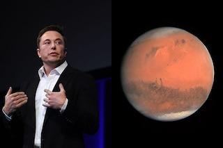 Elon Musk vuole lanciare bombe nucleari su Marte per renderlo abitabile