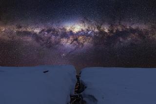 Polvere di stelle nella neve dell'Antartide: trovate tracce di ferro alieno