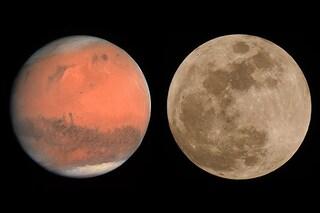 Stasera non vedrai Marte grande quanto la Luna: è una bufala