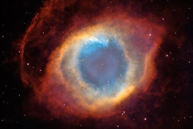 """La Nebulosa Elica o """"Occhio di Dio"""". Credit: HST/NASA"""