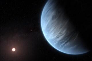 Acqua su un pianeta roccioso a 111 anni luce da noi: possibile super Terra con vita aliena