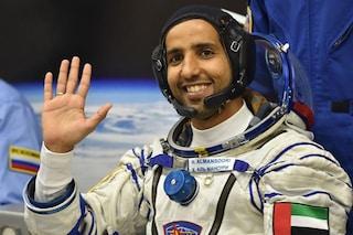 La Soyuz ha attraccato alla ISS: nello spazio il primo astronauta degli Emirati Arabi