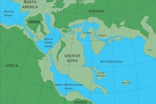 Scoperto continente perduto sotto l'Europa: la Grande Adria ha dato vita a parte dell'Italia