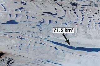 Cambiamenti climatici, scoperti 65mila laghi sul ghiaccio dell'Antartico. Non è una bella notizia