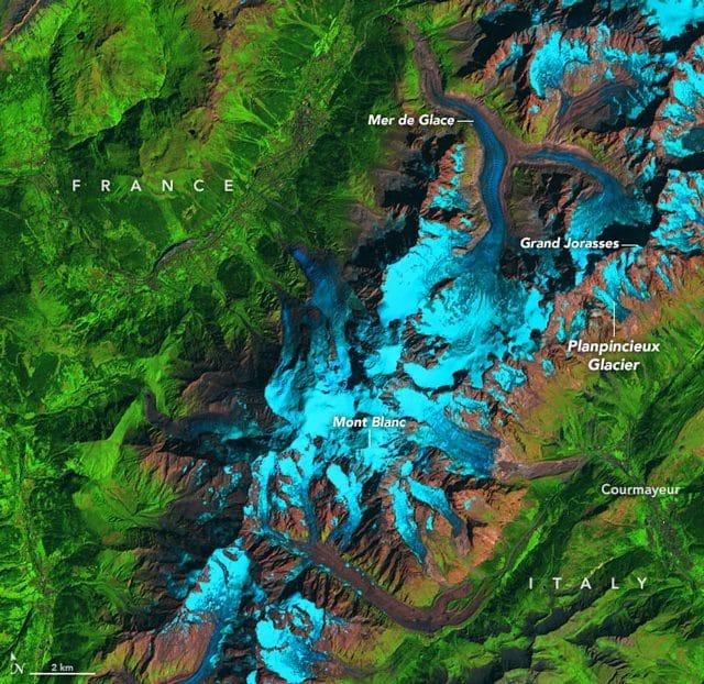 Ghiacciai Monte Bianco 2019