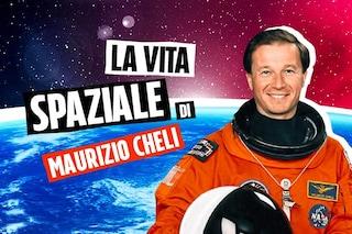 """L'astronauta Maurizio Cheli: """"Quel mezzo millimetro che fa di te un 'alieno' per qualche giorno"""""""