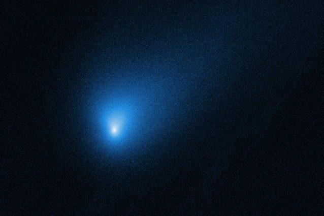 La cometa aliena 2I / Borisov. Credit: NASA, ESA e J. DePasquale / STScI