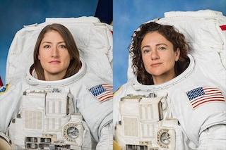 Storica passeggiata spaziale di sole donne il 21 ottobre: poco dopo uscirà dalla ISS Luca Parmitano