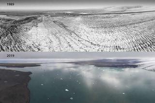 Ghiacciai islandesi sciolti in pochi decenni: gli effetti drammatici dei cambiamenti climatici
