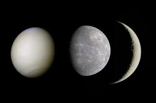 La falce di Luna danza con Venere e Mercurio al tramonto: quando vedere la congiunzione astrale