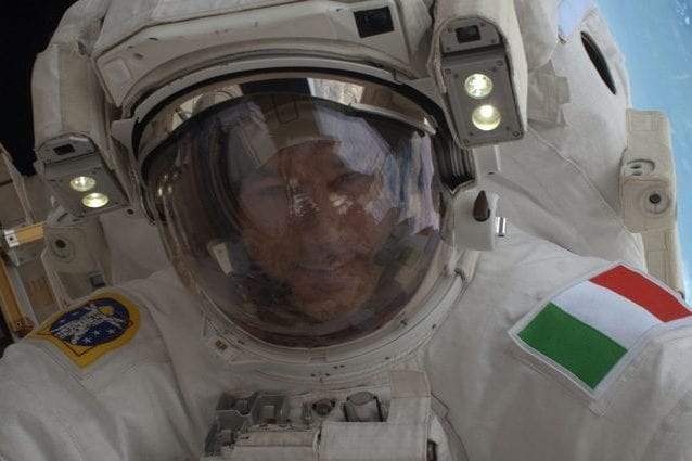 Luca Parmitano. Credit: ESA/NASA