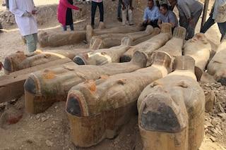 20 sarcofaghi egizi in condizioni eccezionali scoperti a el-Assasif: mai aperti, sono ancora pieni