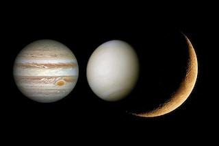 Venere e Giove danzano con la Luna: tutto pronto per la spettacolare congiunzione astrale a tre