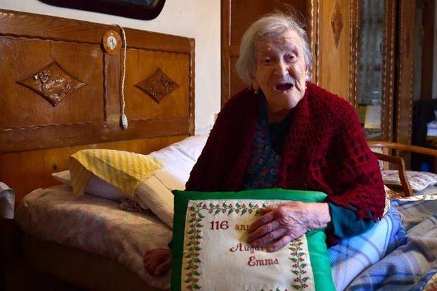 Emma Morano, la centenaria di Verbania scomparsa a 117 anni nel 2017