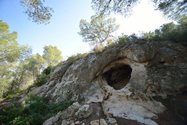 La grotta Cova Foradada dove è stato trovato il reperto. Credit: Antonio Rodríguez–Hidalgo