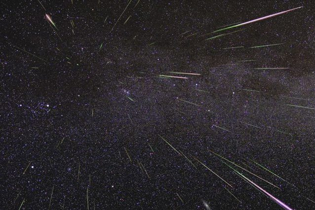 Meteore. Credit: NASA/JPL