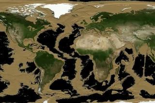 Una Terra senza oceani, ecco come sarebbe secondo la NASA