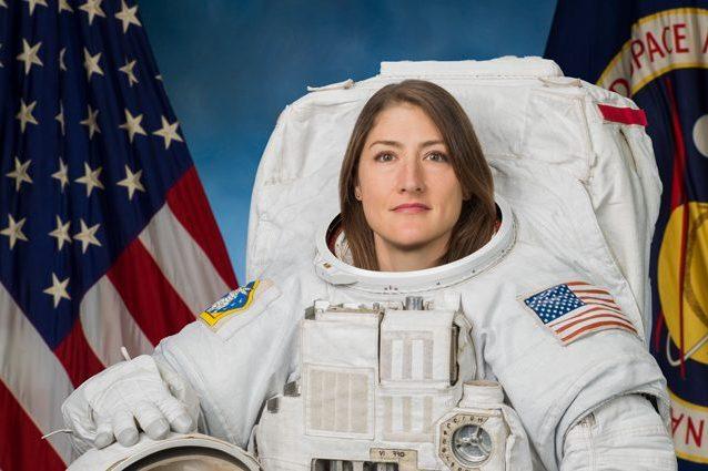 L'astronauta della NASA Christina Koch. Credit: NASA