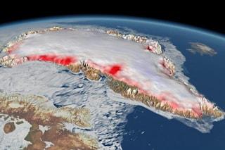 Cambiamenti climatici, la Groenlandia perde ghiaccio 7 volte più rapidamente degli anni '90