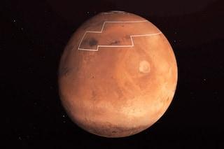 Marte, rilevati depositi di ghiaccio d'acqua a pochissimi centimetri dalla superficie