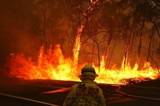 Un devastante incendio in Australia