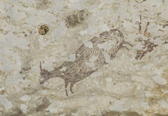 Pittura rupestre. Credit: Endra