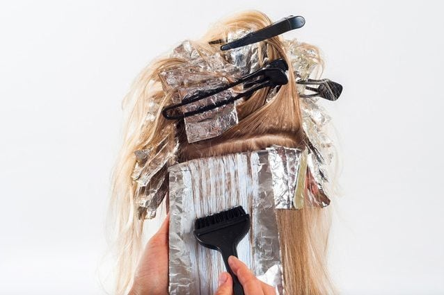 Tintura per capelli. Credit: artursphoto