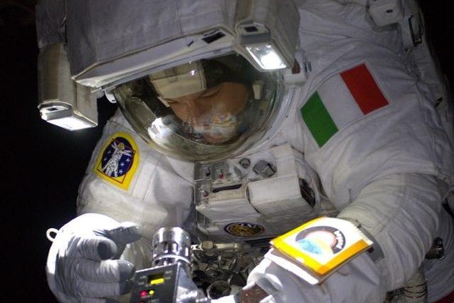 Luca Parmitano. Credit: NASA/ESA