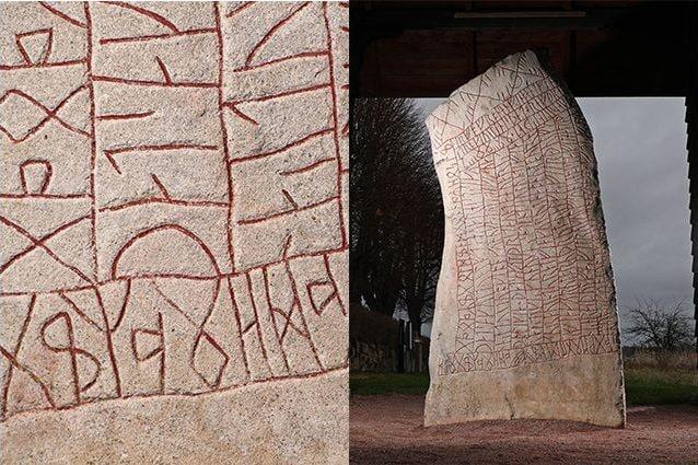 La pietra runica di Rok