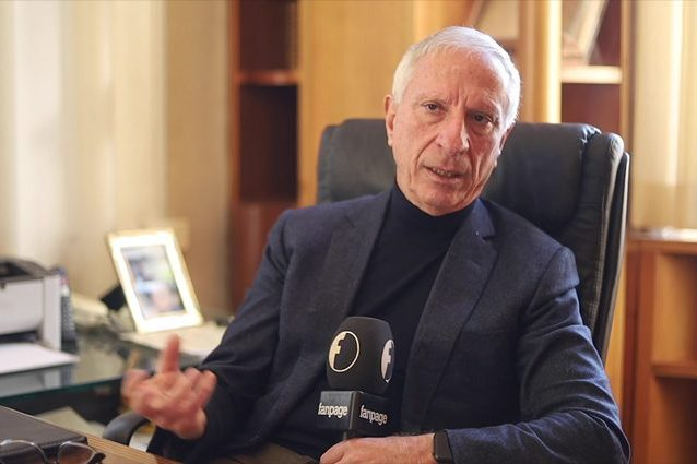 Il professor Francesco Violi