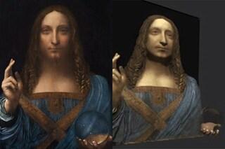Svelato dopo secoli il mistero del globo del Salvator Mundi di Leonardo da Vinci