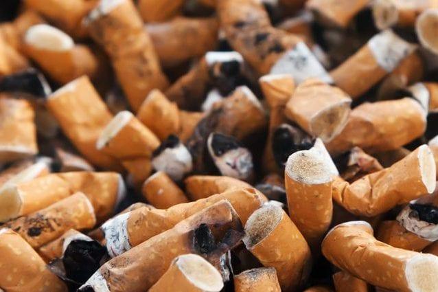 Mozziconi di sigaretta. Credit: PublicDomainPictures